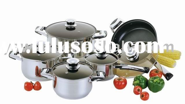 stainless steel cookware set   YWD-006