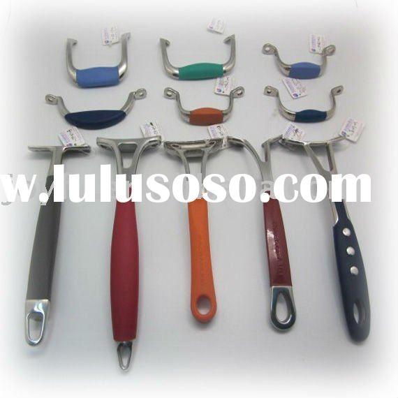 stainless steel silicon kitchenware handles
