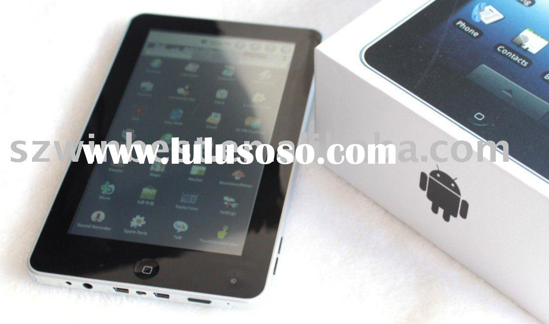 top selling of android 2.1, 7 inch,1.3m camera,android 2.1/2.2, 4GB, telechip8902 800MHZ, cheapest a