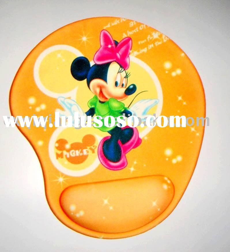 wrist support Gel Mouse pad,OEM factory mouse pad