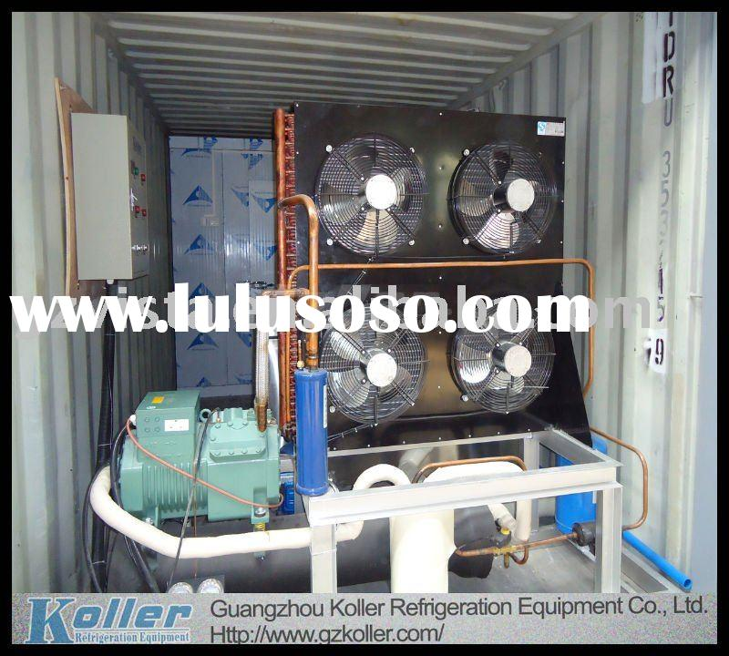 Containerized Ice Block Machine & Cold Room
