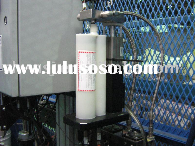 Double Automatic filling sealing machine/filling adhesive machine/capsule filling machine/filling/fi