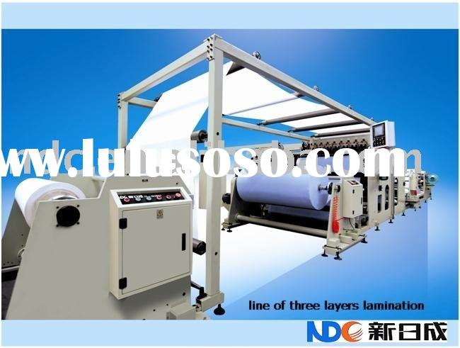 Hot Melt Laminating Machine for PE film and Nonwoven