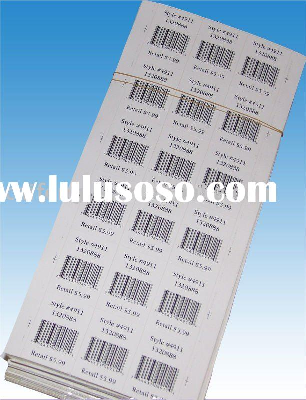Removable Price label