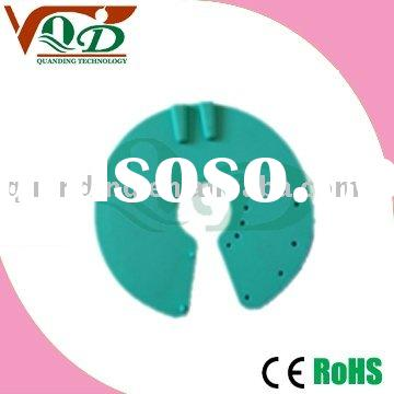 Round Silicone Rubber  Breast self-adhesive electrodes