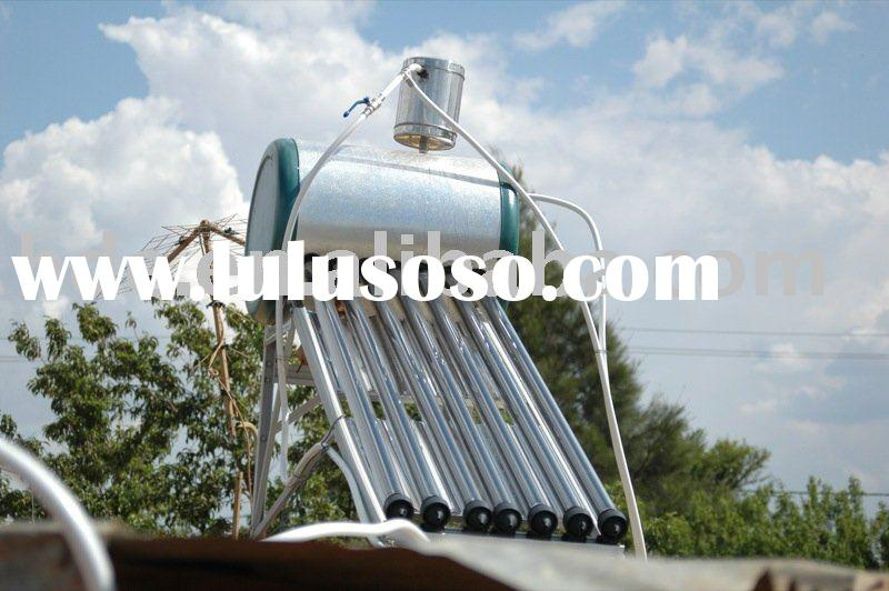 Solar Water Heaters With assistant tank