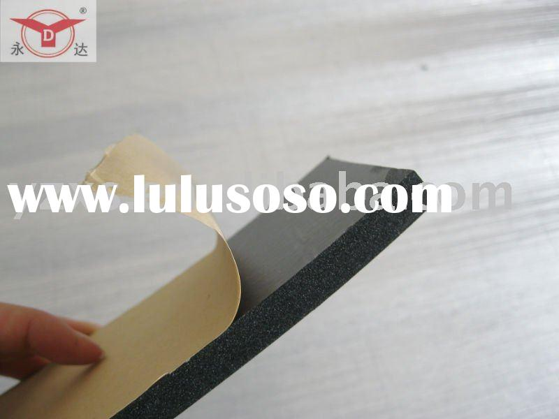 adhesive tape on one side  Foam rubber sheet