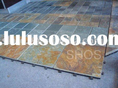 interlocking pavers with plastic grips