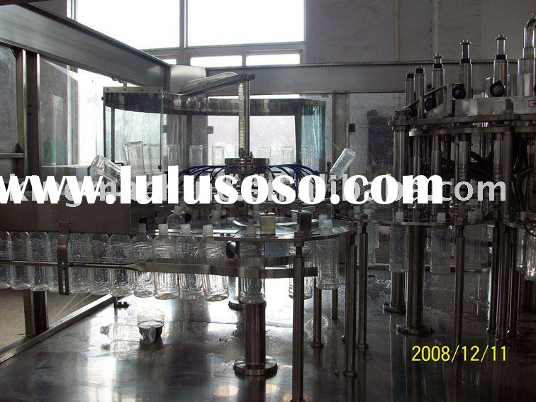juice /tea hot filling line (water 3  in  1 filling machine )