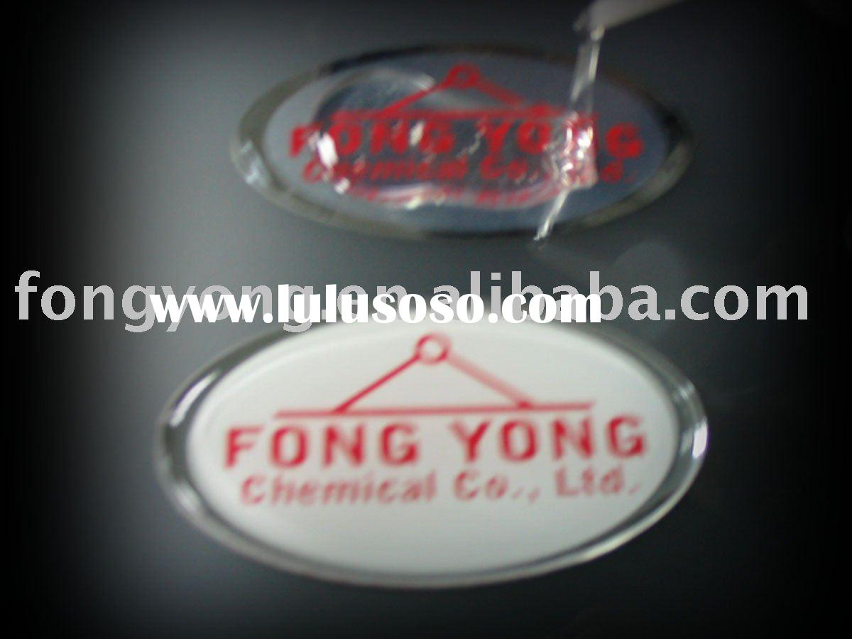 two parts epoxy doming coating resin adhesive glue