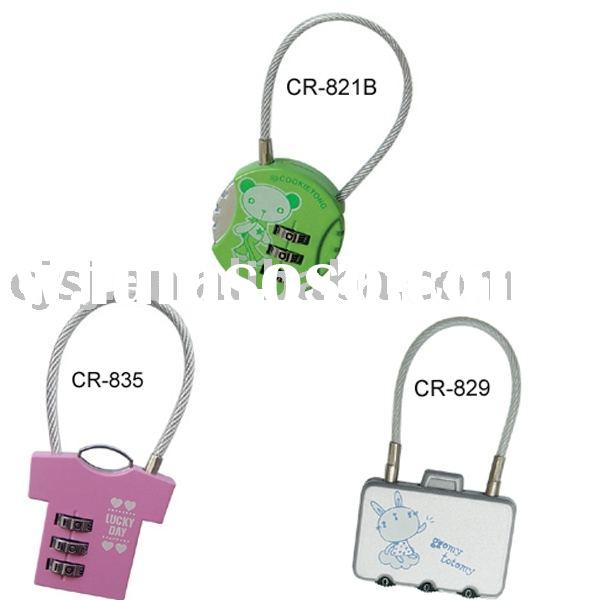 3-digit resettable Combination Lock for Promotional gift