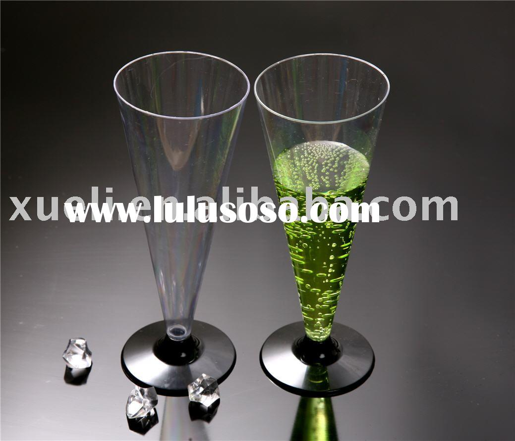 4.7OZ disposable  plastic champagne glass