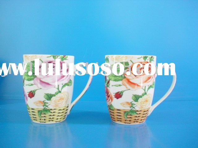 Chinese porcelain coffee cup