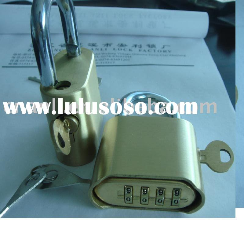Combination Padlock With Master Key