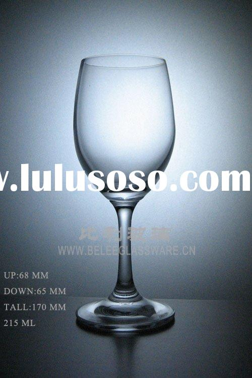 Crystal glass drinking cup,glass wine cup