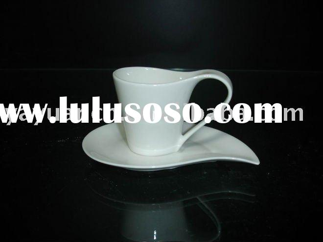 DURABLE PORCELAIN COFFEE CUP&SAUCER