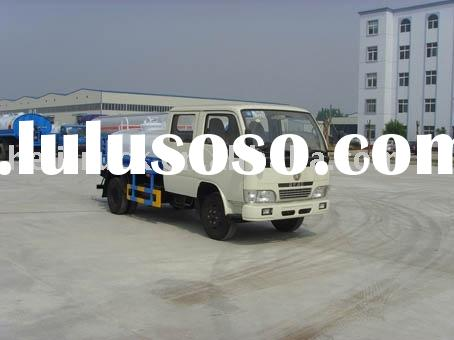 Dongfeng double row cab water truck