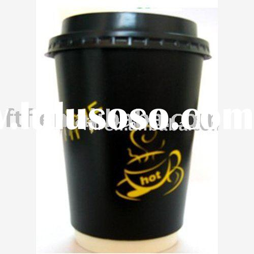 Inflatable coffee cup