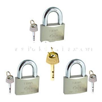 Keyed Alike Padlock Set w/Master Key