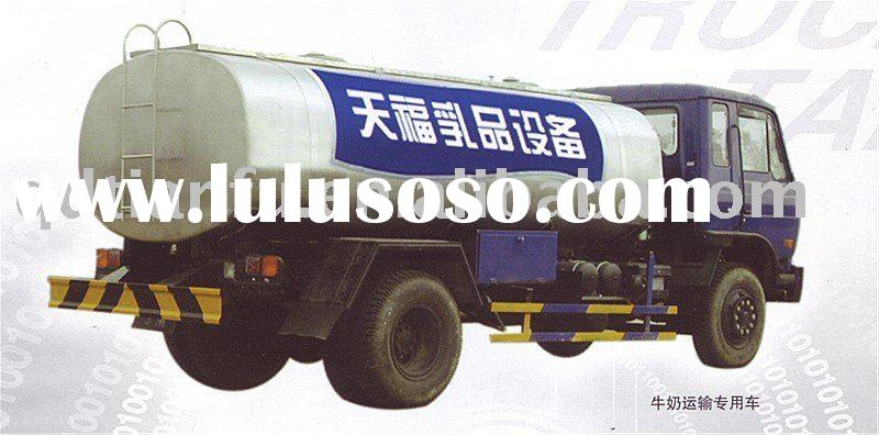 Milk and  Water  Stainless  Steel Truck  Tank