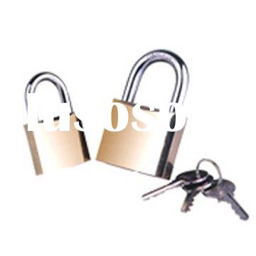 Polished Brass Padlocks