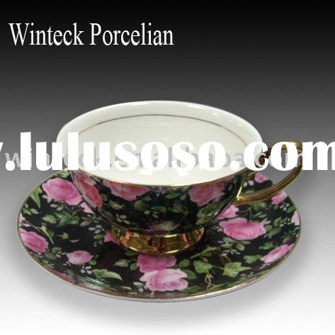 Promotional Ceramics products Tea Cup and Saucer Set