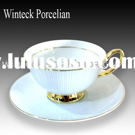 Royal Porcelain Coffee Cup and Saucer Set