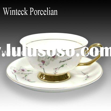 Royal Porcelain Tea Cup and Saucer Set