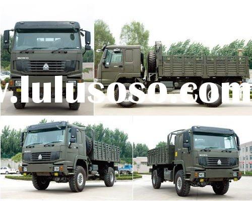 Sinotruk HOWO 4x4 All Wheel Drive Cargo Truck For The Army