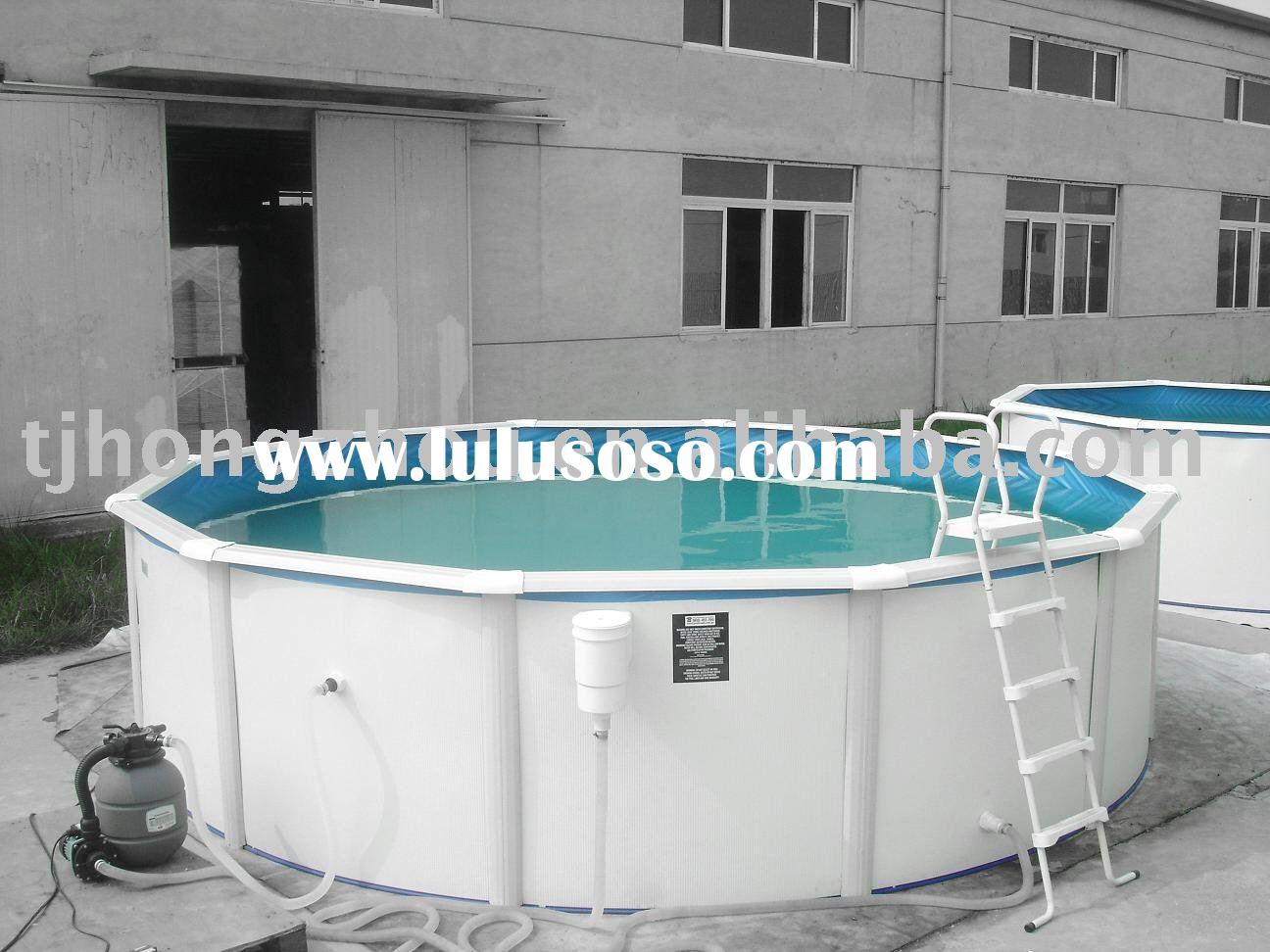 Acylic above ground swimming pool jcs ss1 for sale price china manufacturer supplier 934061 for Steel above ground swimming pools