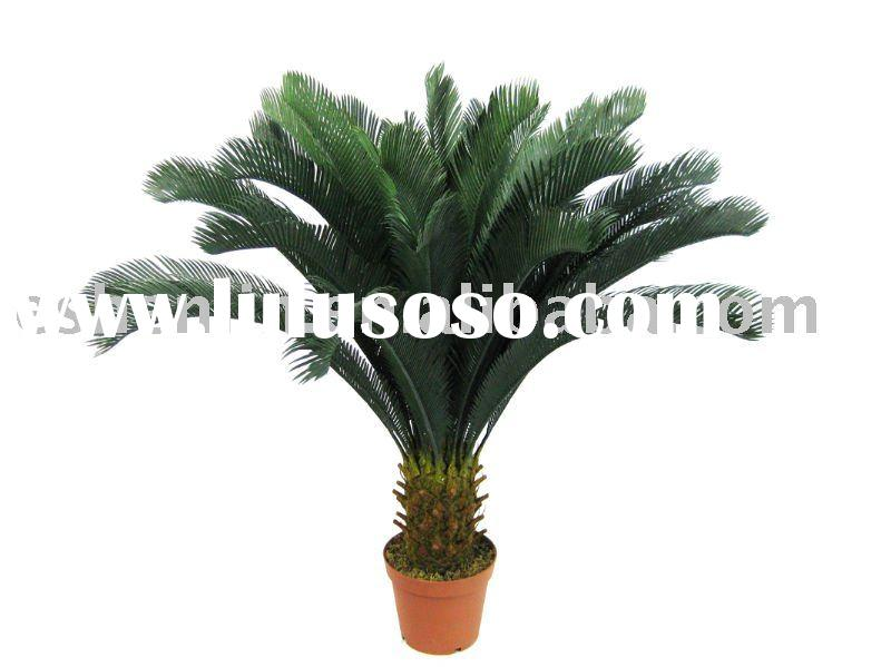 artificial cycas potted plant