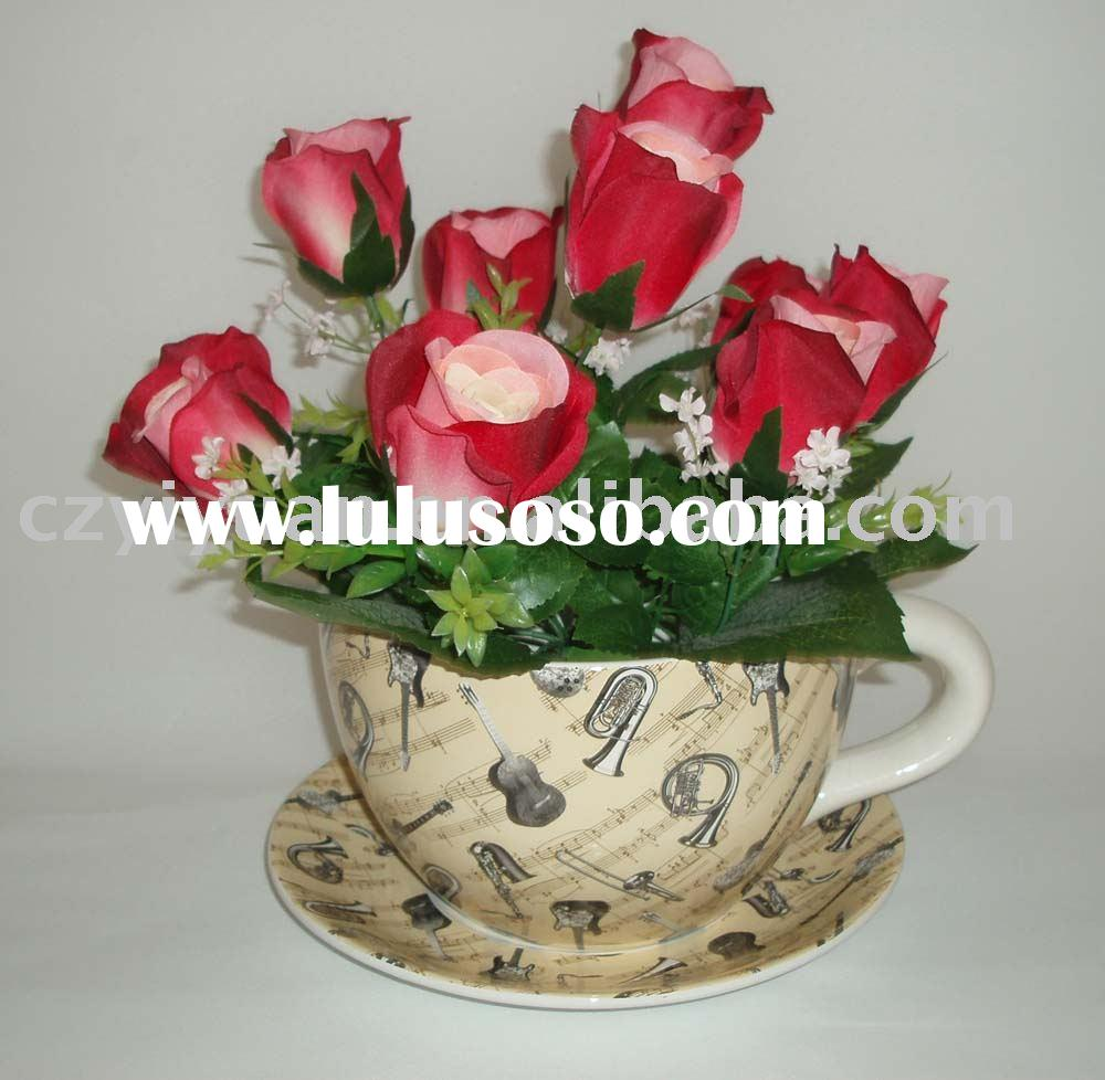 ceramic flower planter