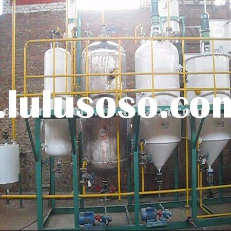 crude palm oil refinery machinery