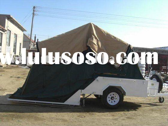 off-road Camper trailer with tent