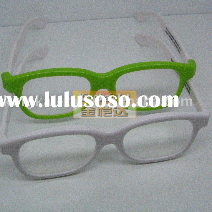 promotional plastic Chromadepth 3d glasses for kids