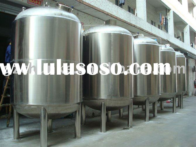 sterile  stainless  steel  sterile water tank for drinking water