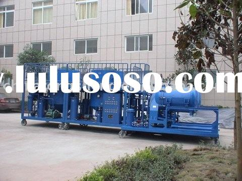 waste diesel oil gas oil recycle machine oil purifier--HYF-80 Light Oil Separating and Purifying Dev