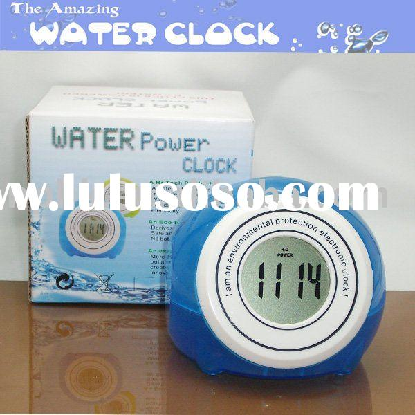 water power clock(np-wc087A)/magic clock/promotional clock/Teenagers innovative products/ novel gift