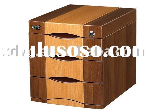 2011  Three Drawer  Mobile  Office  Filing cabinet with two color