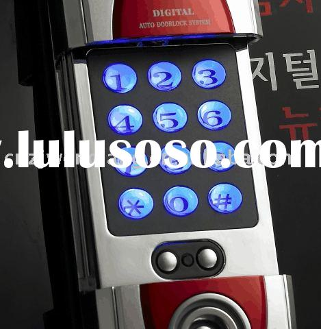 Electronic locks with auto digital door lock system