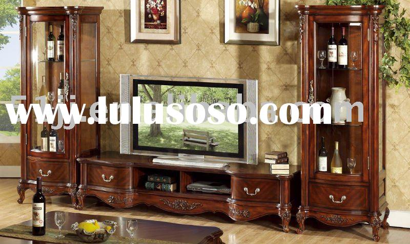 European style wooden furniture living room set NS-9811