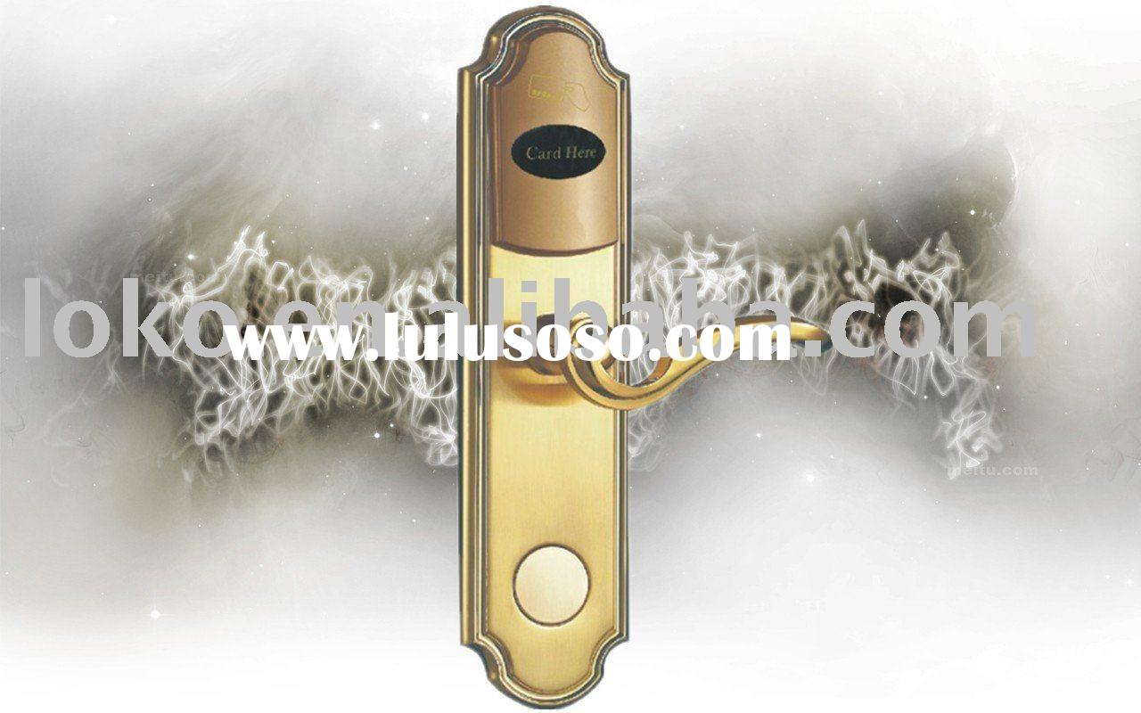 Hotel lock for hotel, school,home ,apartment,residential district and holiday village etc using