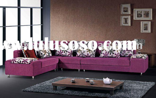 Newly modern Arabic living room furniture fabric sofa