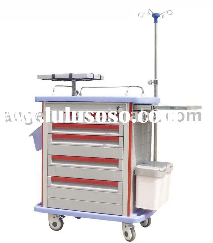 Plastic medical cart
