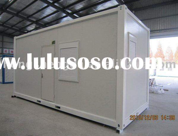 Quick built container house