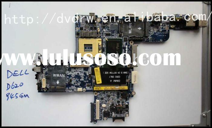 Tested Refurbished Intel notebook spare parts for dell d620 motherboard