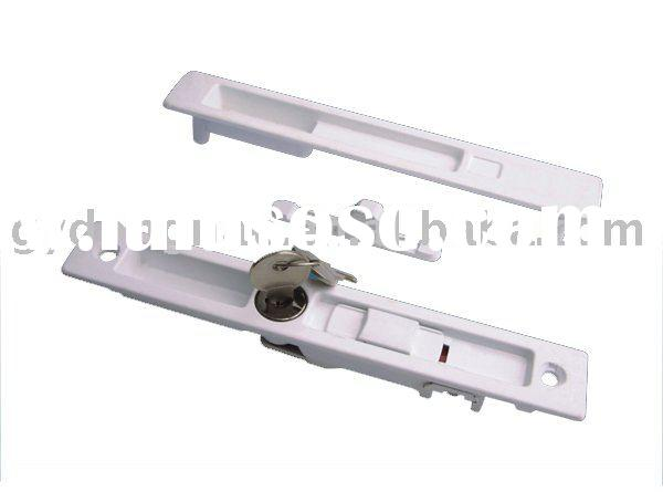 aluminum alloy TWO-SIDED window lock with key