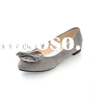 brand leather lady casual shoes GH-314