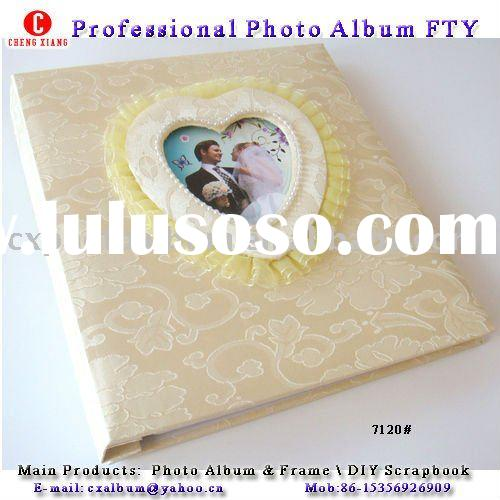 fabric cover  photo album for Wedding Gift