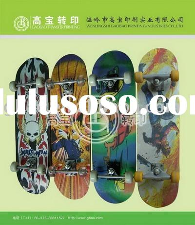 heat transfer printing for skateboard